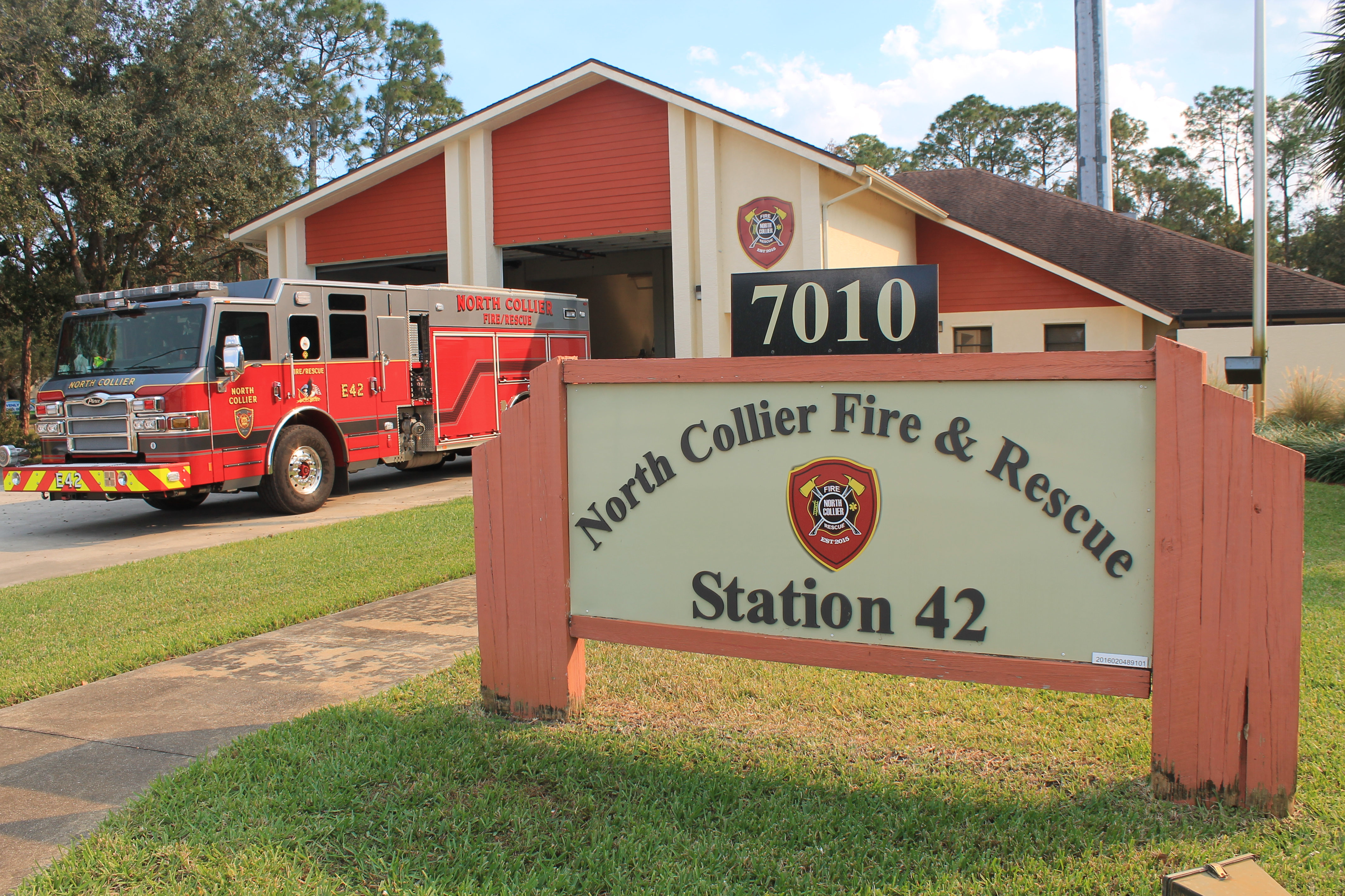 North Collier Fire & Rescue Station 42