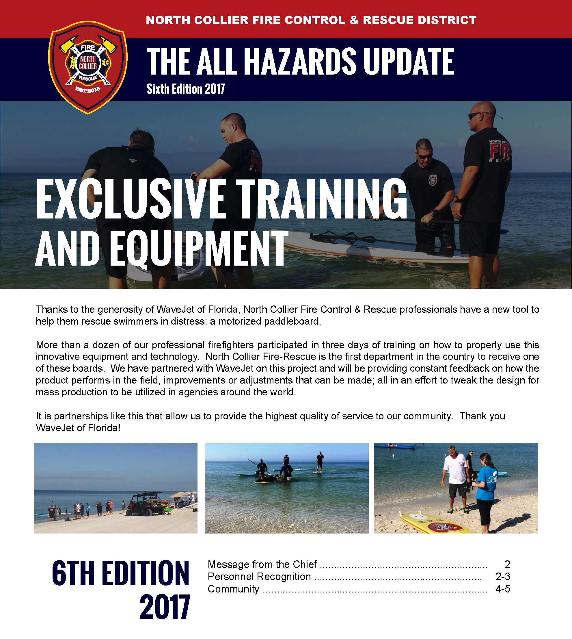 All Hazards Update Sixth Edition 2017
