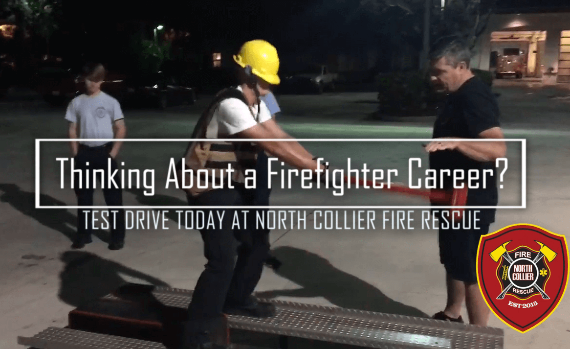 Explorers Test Drive Firefighter Career