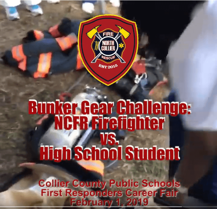 High School Student vs. Firefighter Bunker Gear Challenge – Check out who won!