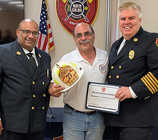 Chairman Lombardo Recognized for 20 Years of Service