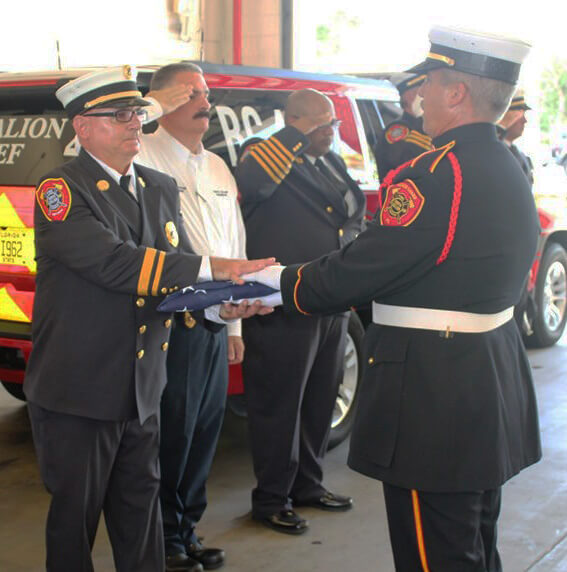 Battalion Chief Al Duffy Retires After 30 Years