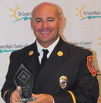 Lt. Schank Recognized for Community Service