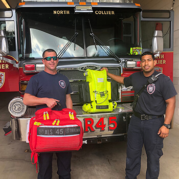 New & Improved Medic First Responder Bags In Service at NCFR