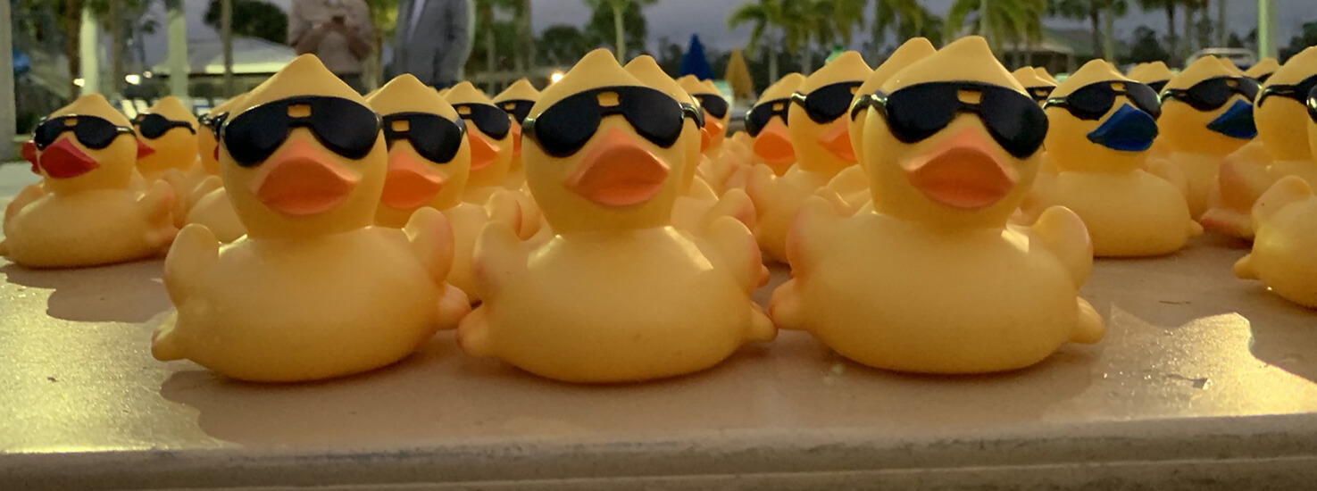 Slider-Duck Race